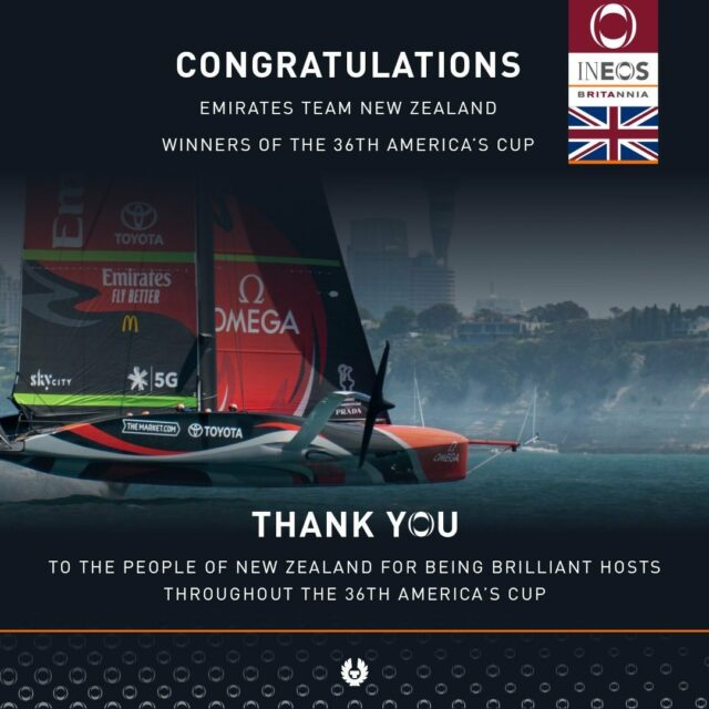 Hats off @emiratesteamnz incredible performance #americascup