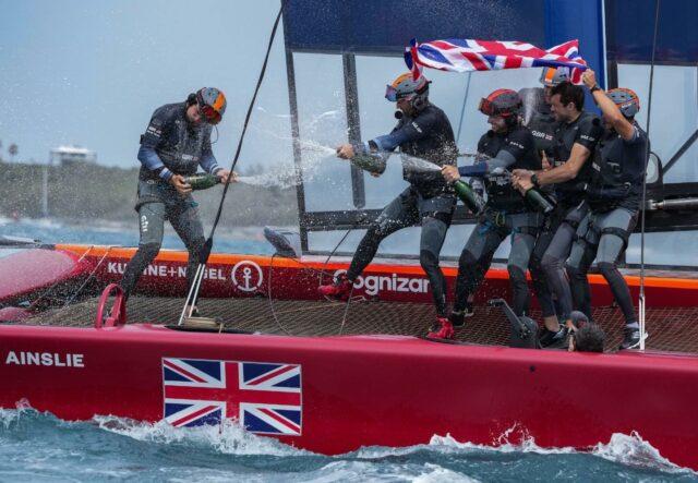 #Champagnemoment @SailGPGBR @SailGP #Bermuda #teamwork