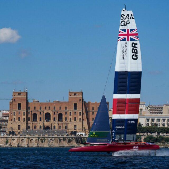 Nice work @sailgpgbr ! Looking good 🤜🤛 #SailGP #RacefortheFuture